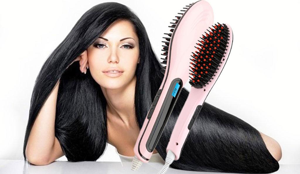 Fast Hair Straightener — Расческа-выпрямитель: отзывы реальных покупателей и специалистов