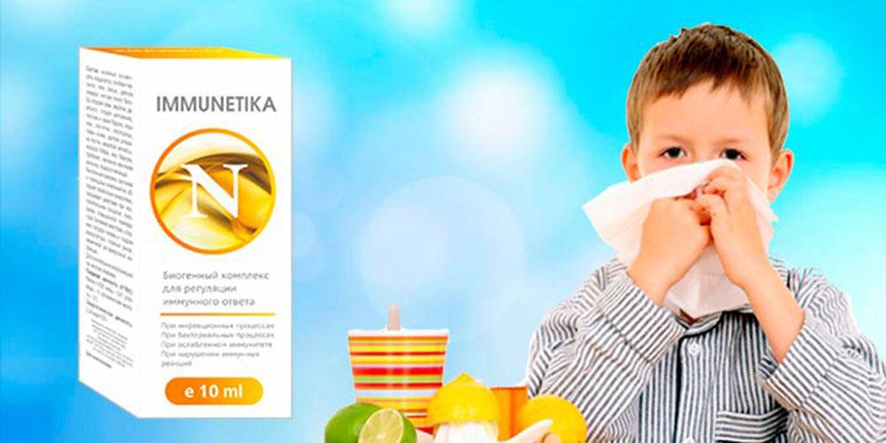 Immunetika — капли для иммунитета: отзывы реальных покупателей и специалистов