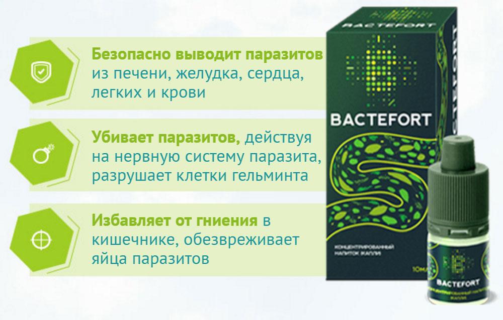 Bactefort - капли от паразитов: отзывы реальных покупателей и специалистов