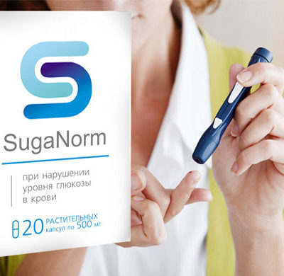 «SugaNorm» — капсулы от диабета
