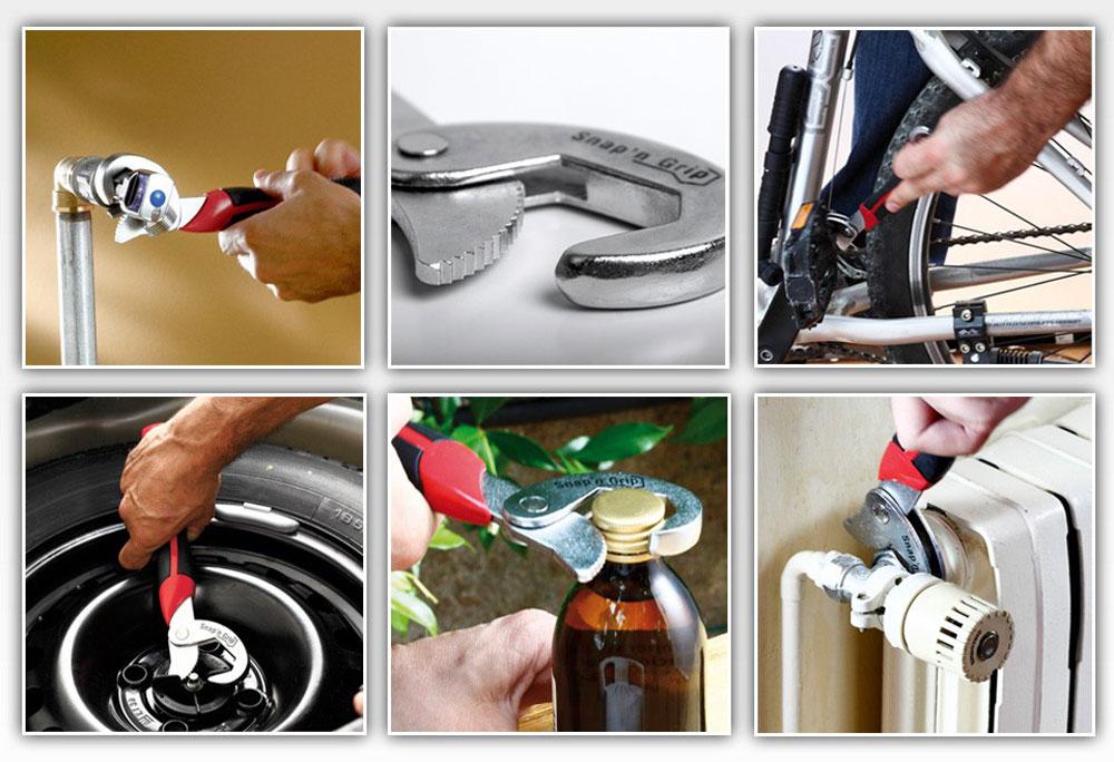 Универсальный гаечный ключ Snap n Grip - реальные отзывы покупателей и специалистов