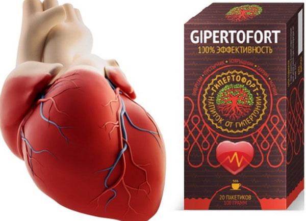 «Gipertofort» - средство против гипертонии