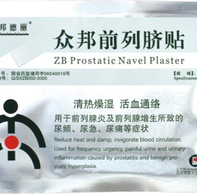 Пластырь от простатита